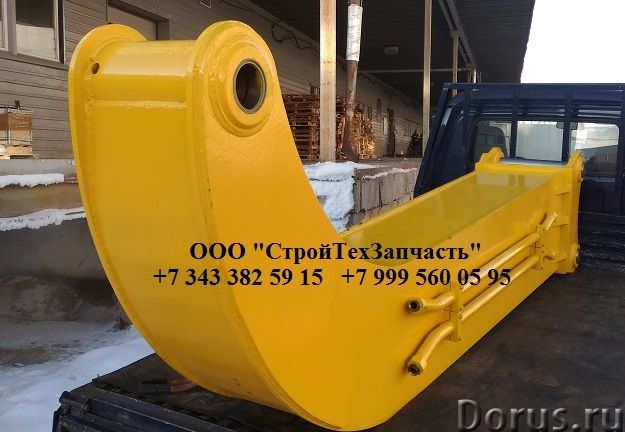 Гусёк удлинитель на экскаватор 10 - 60 тонн - Запчасти и аксессуары - Изготавливаем качественные гус..., фото 1