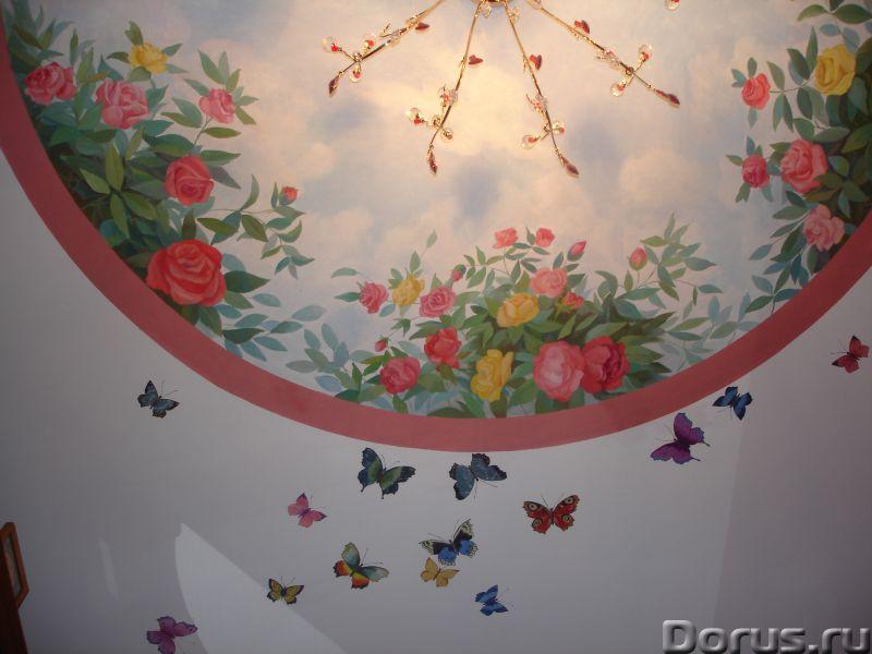 Настенная роспись - Ремонт и отделка - Художественная настенная роспись,декор стен, лепнина. настенн..., фото 2