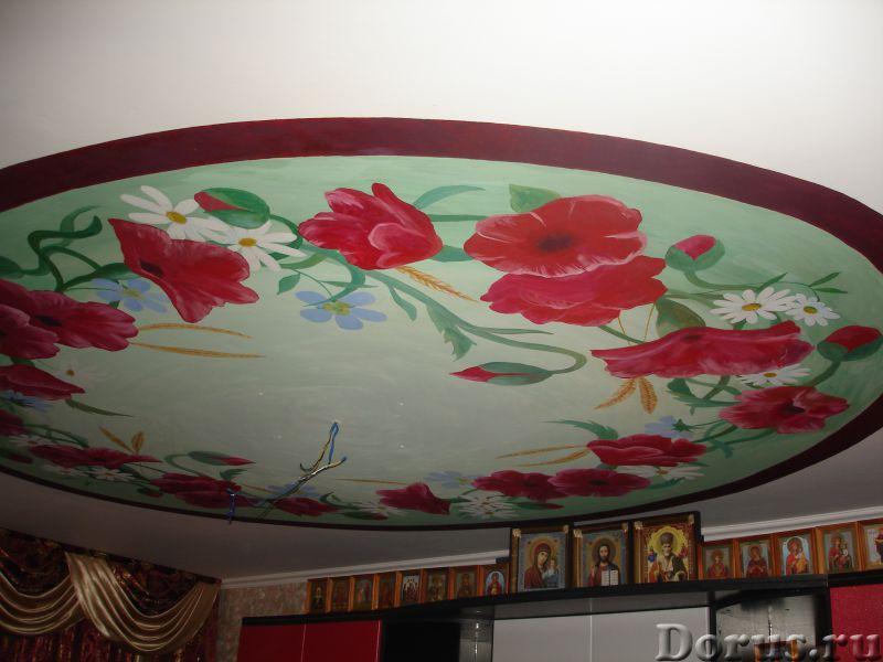 Настенная роспись - Ремонт и отделка - Художественная настенная роспись,декор стен, лепнина. настенн..., фото 5