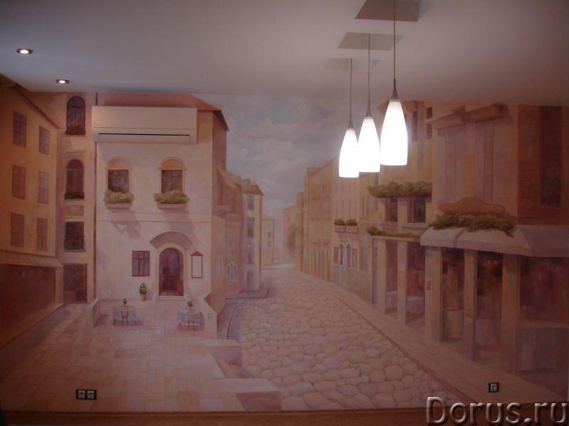 Настенная роспись - Ремонт и отделка - Художественная настенная роспись,декор стен, лепнина. настенн..., фото 6