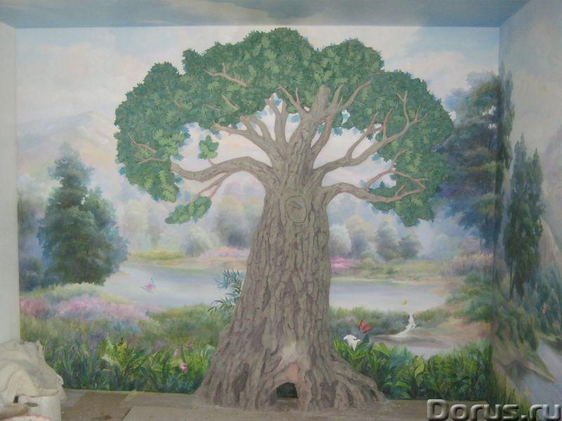 Настенная роспись - Ремонт и отделка - Художественная настенная роспись,декор стен, лепнина. настенн..., фото 9