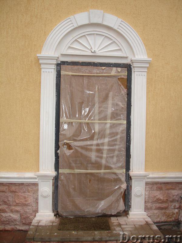 Дверь из пенопласта